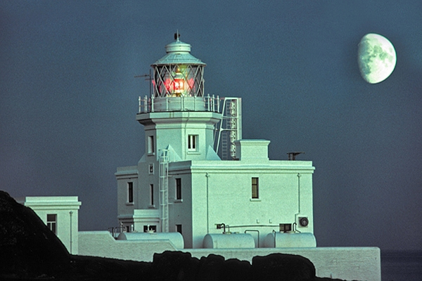 Skokholm Lighthouse.