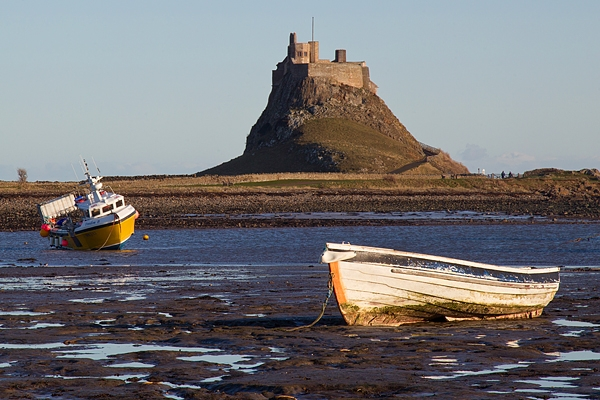 Lindisfarne Castle 2. Jan '19.