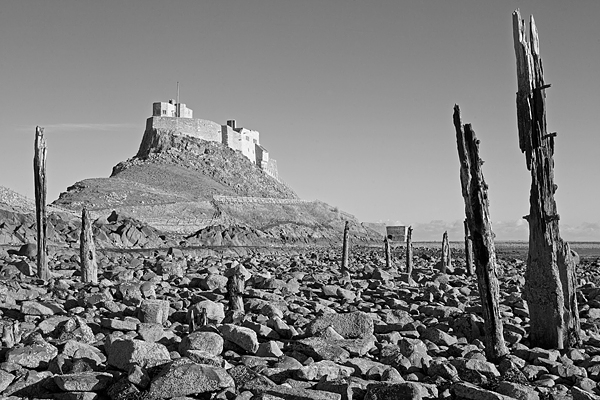 Lindisfarne Castle 1. Jan '19.